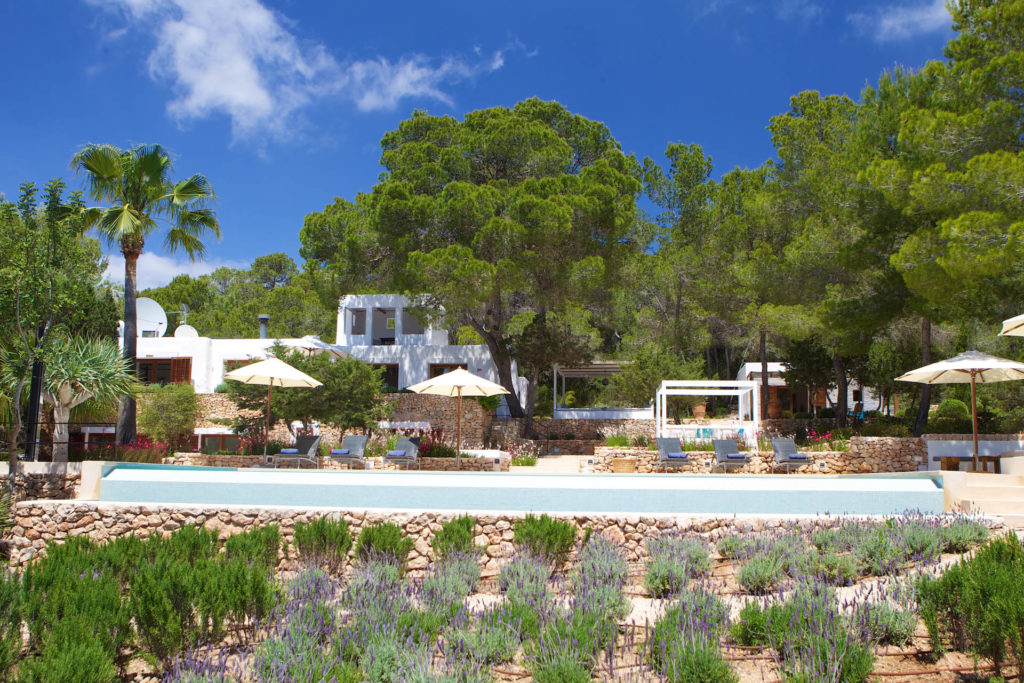 Ibiza villas large groups