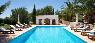 6 Bedroom Villa rental - Cala Jondal - San Jose - Ibiza South