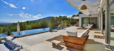 6 Bedroom Private Seaview Villa - Ibiza town - San Jose - South Ibiza