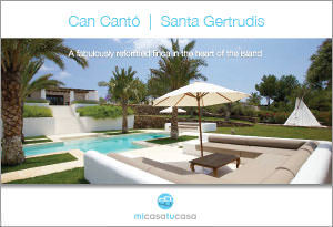 Brochure for 4 bedroom villa in Santa Gertrudis Ibiza